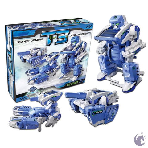 3-in-1 Transforming Solar Robot Ages 10+