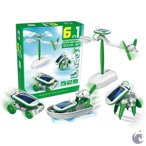 6-in-1 Educational Solar Kit 10+