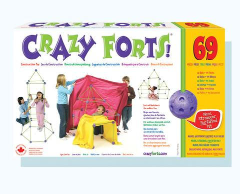 Crazy Forts - 5+ Canadian Made