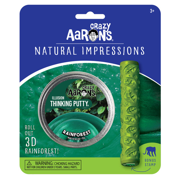 Rainforest Natural Impressions Thinking Putty Set