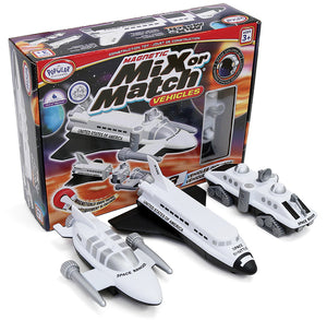 Magnetic Mix or Match Vehicles: Space 3+