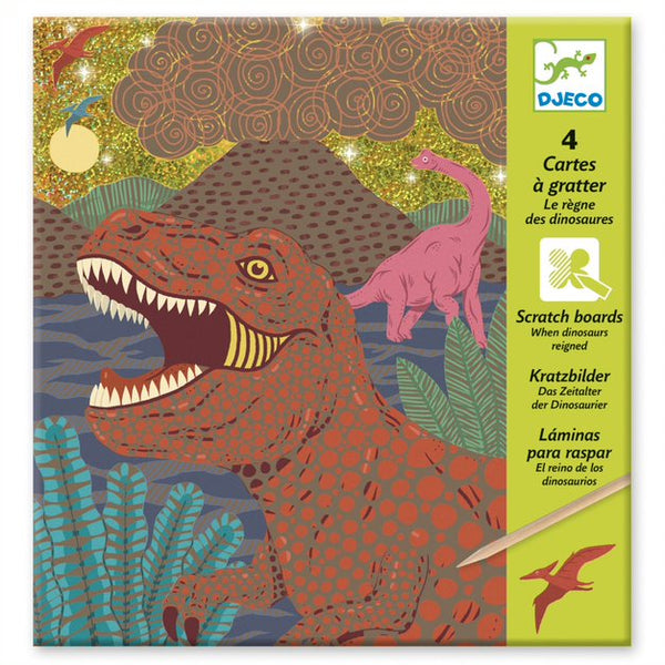Scratch Cards - When Dinosaurs Reigned