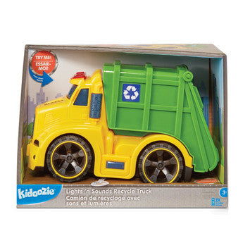 Lights 'n Sounds Recycle Truck 3+
