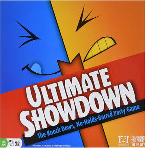 Ultimate Showdown The Knock Down, No-Holds-Barred Party Game