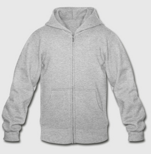 Zip-Front, Back Signature Youth Zip Hoodie
