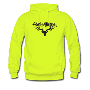 Everything Men's Hoodie - safety green