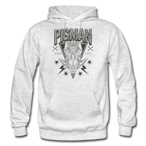 Pigman Skull Men's Hoodie - light heather gray