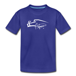 Pigman Signature Youth T-Shirt - royal blue