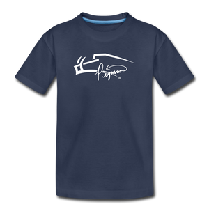 Pigman Signature Youth T-Shirt - navy