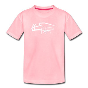 Pigman Signature Youth T-Shirt - pink