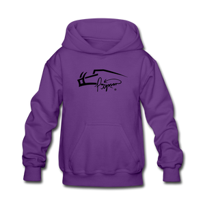 Pigman Signature Youth Hoodie - purple