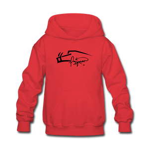 Pigman Signature Youth Hoodie - red