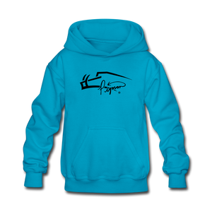 Pigman Signature Youth Hoodie - turquoise