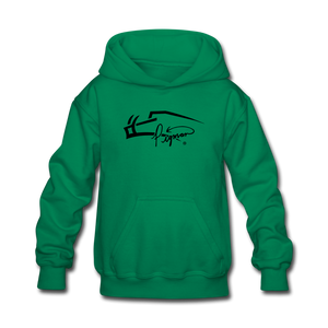 Pigman Signature Youth Hoodie - kelly green