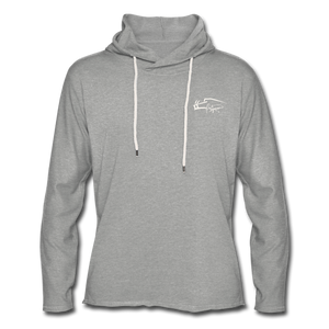 Signature Lightweight Terry Women's Hoodie - heather gray