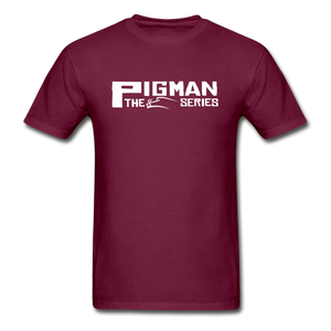 Official Series Premium Men's Tee - burgundy