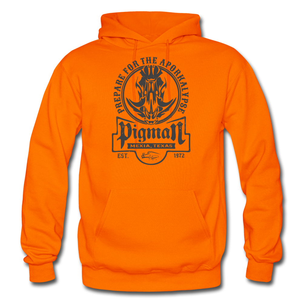 Hunter Orange Aporkalypse Men's Hoodie - orange