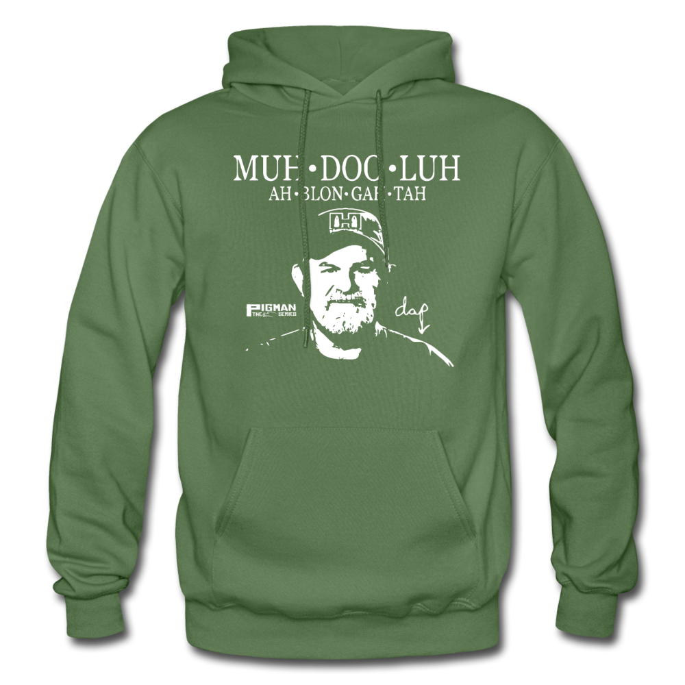 Dap Muh-Doo-Luh Men's Hoodie - military green
