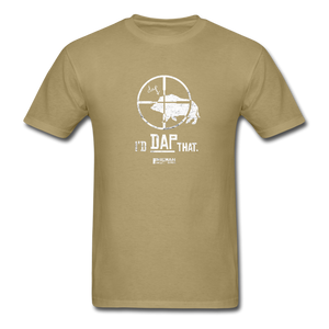 I'd Dap That Classic Men's T-Shirt - khaki