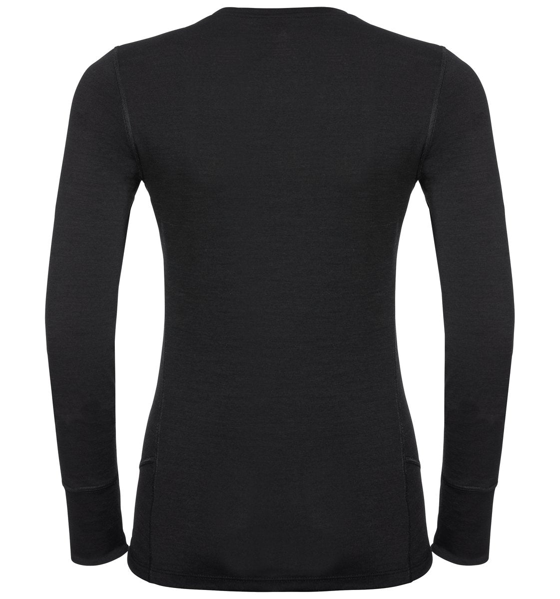 Odlo Women's NATURAL 100% MERINO WARM Long-Sleeve Baselayer Top