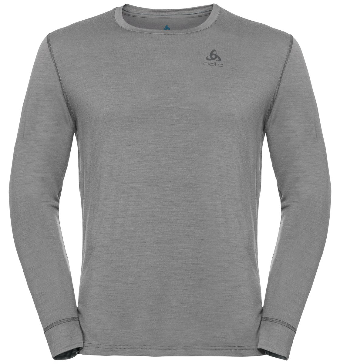 Odlo Men's NATURAL 100% MERINO WARM Long-Sleeve Baselayer Top