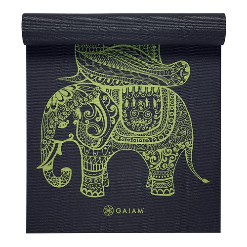 Gaiam 6mm Tribal Wisdom Workout Mat