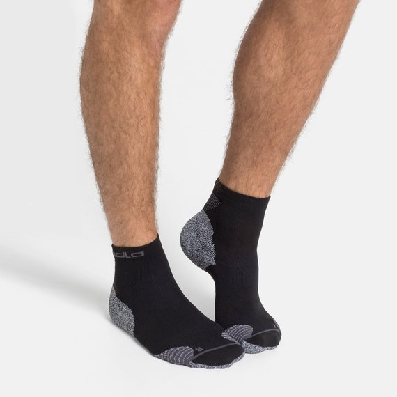 Odlo - FREE PLUS SHIPPING LAUNCH OFFER - Ceramicool Running Quarter Socks * Must be purchased separately*