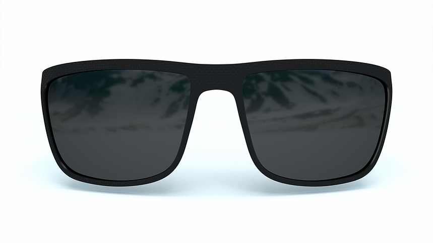 Panda Optics Cove Polarised Sunglasses - Black