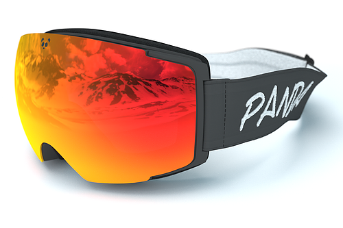 Panda Optics Cobalt Polarised Adult Ski Goggles - Grey