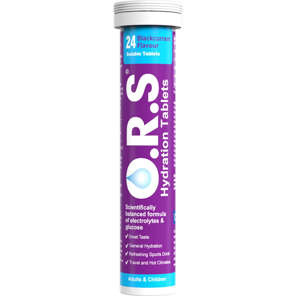 O.R.S. Hydration Tablets (24 Tablets) *Multi-buy & Save*