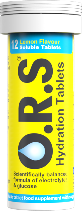 O.R.S. Hydration Tablets (6 x 12 Tablets)