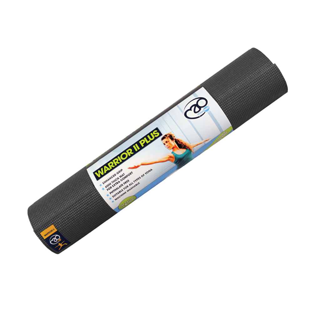 Fitness Mad Warrior Yoga Mat - 6mm