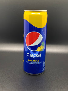 Pepsi Soda, Pineapple