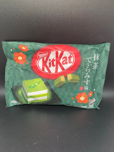 Kit Kat Mini | Tiramisu Match Green Tea