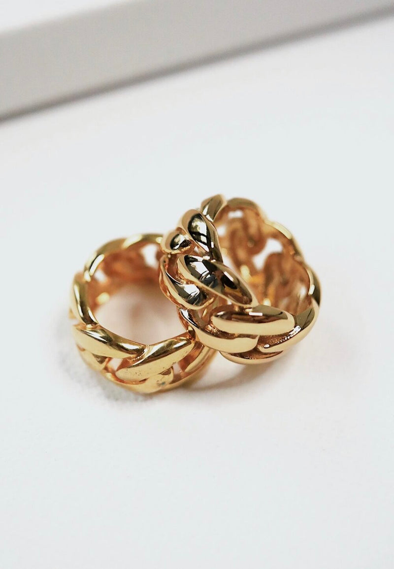 Classic Gold Chain Ring