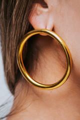 Endless Gold Earring