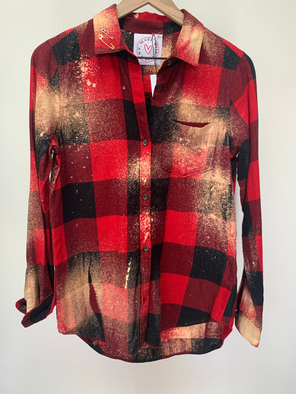 Red Lip Flannel