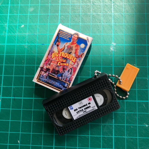 Big trouble in Little Chine VHS Keychain
