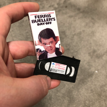 Load image into Gallery viewer, Ferris Bueller's Day Off VHS Keychain
