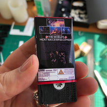 Load image into Gallery viewer, Ghostbusters VHS Keychain