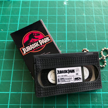 Load image into Gallery viewer, Jurassic Park VHS Keychain