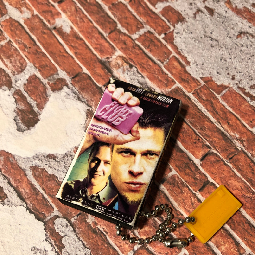 Fight Club VHS Keychain