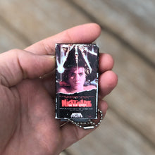 Load image into Gallery viewer, Nightmare On Elm Street VHS Keychain