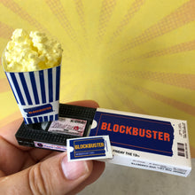 Load image into Gallery viewer, Blockbuster Rental VHS Keychain