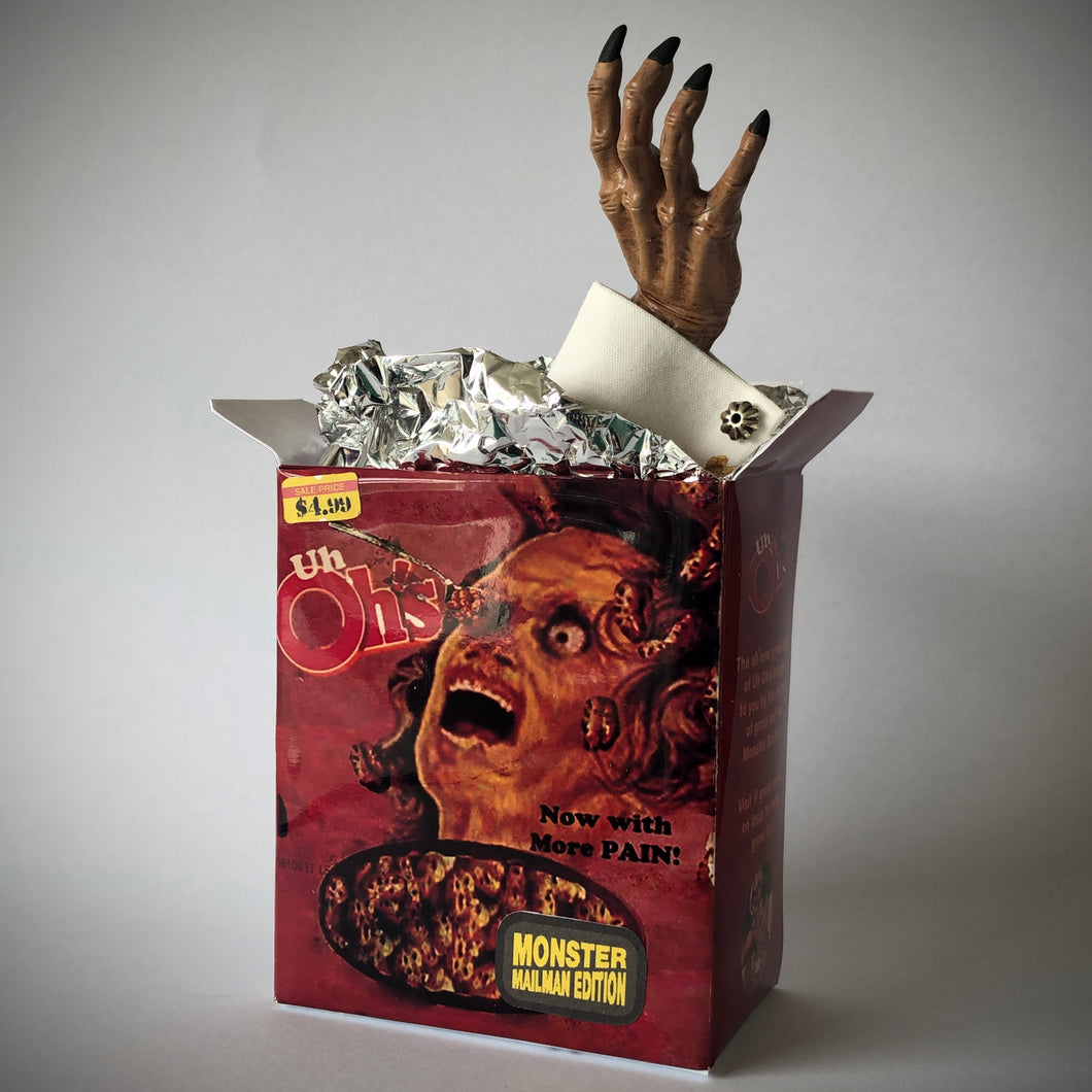 Uh Oh's Cereal - Monster Mailman Edition Hand 4