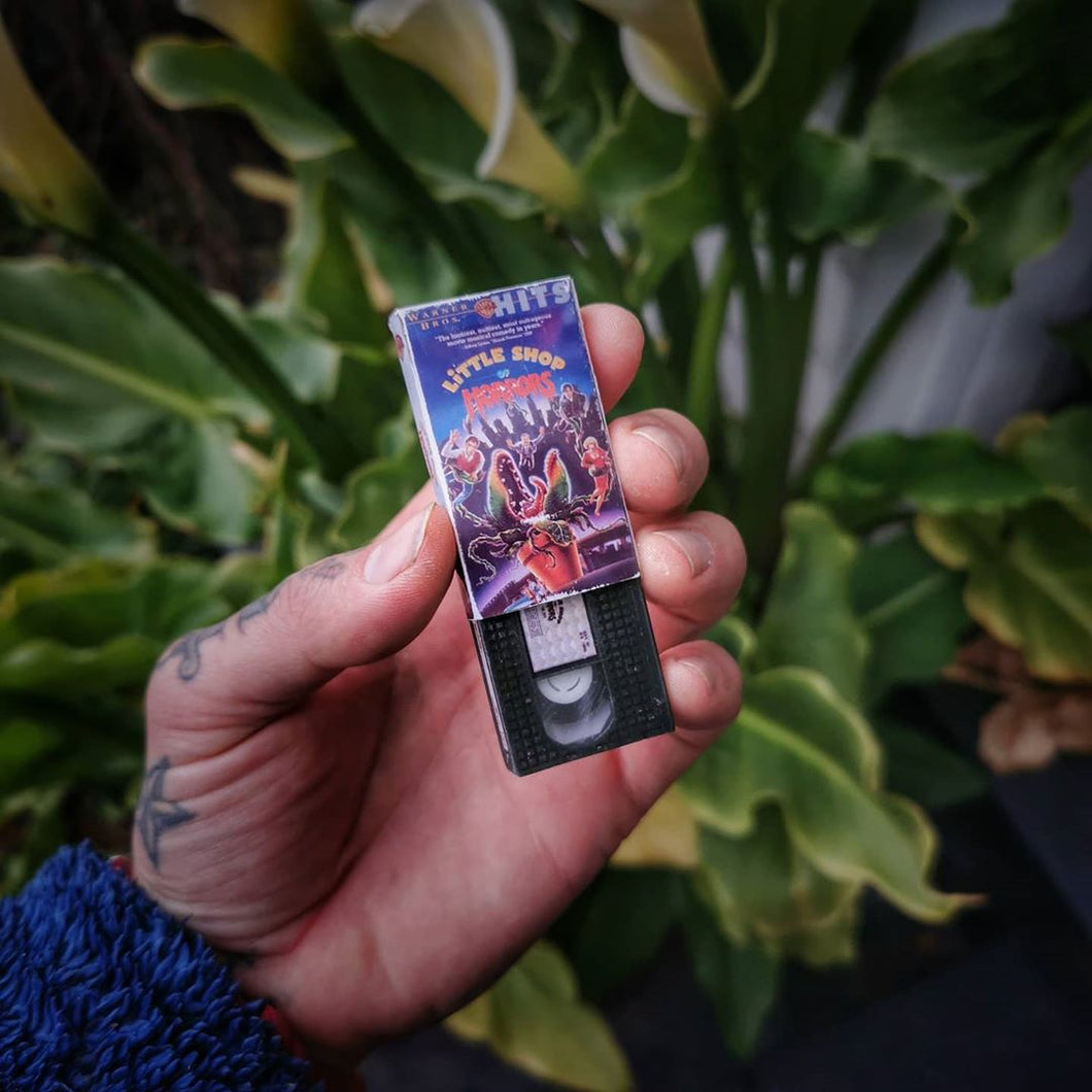 Little Shop of Horrors VHS Keychain