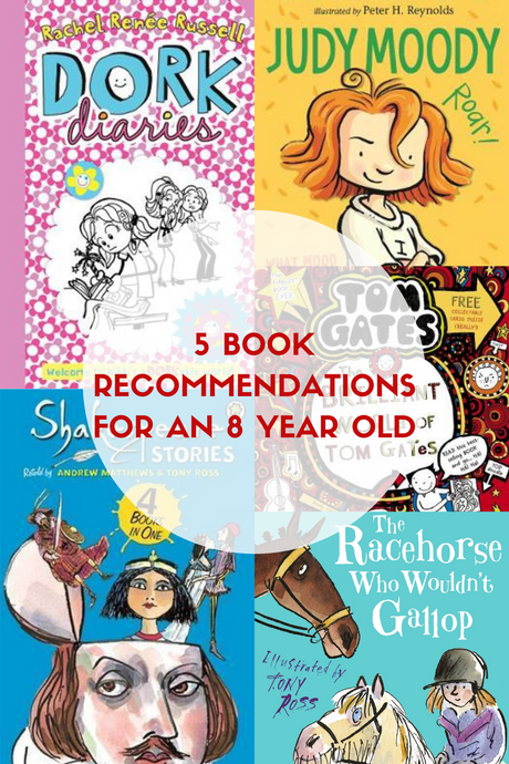 5 Great Books for an 8 Year Old!
