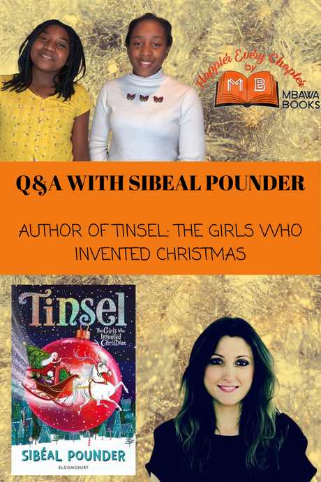 Q&A With Sibeal Pounder!