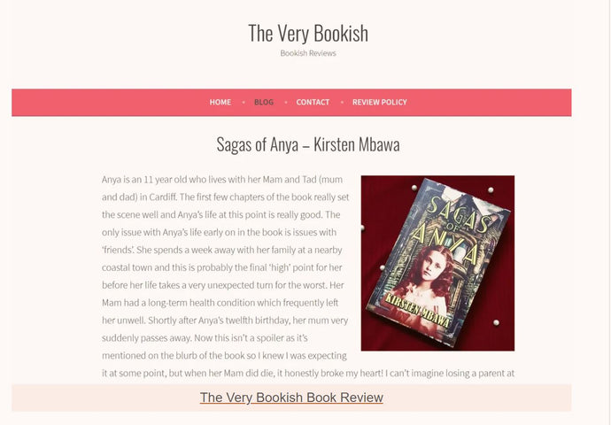 Our Books Reviewed By The Very Bookish