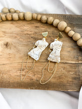 Load image into Gallery viewer, Venus de Milo Chain Collection Earrings